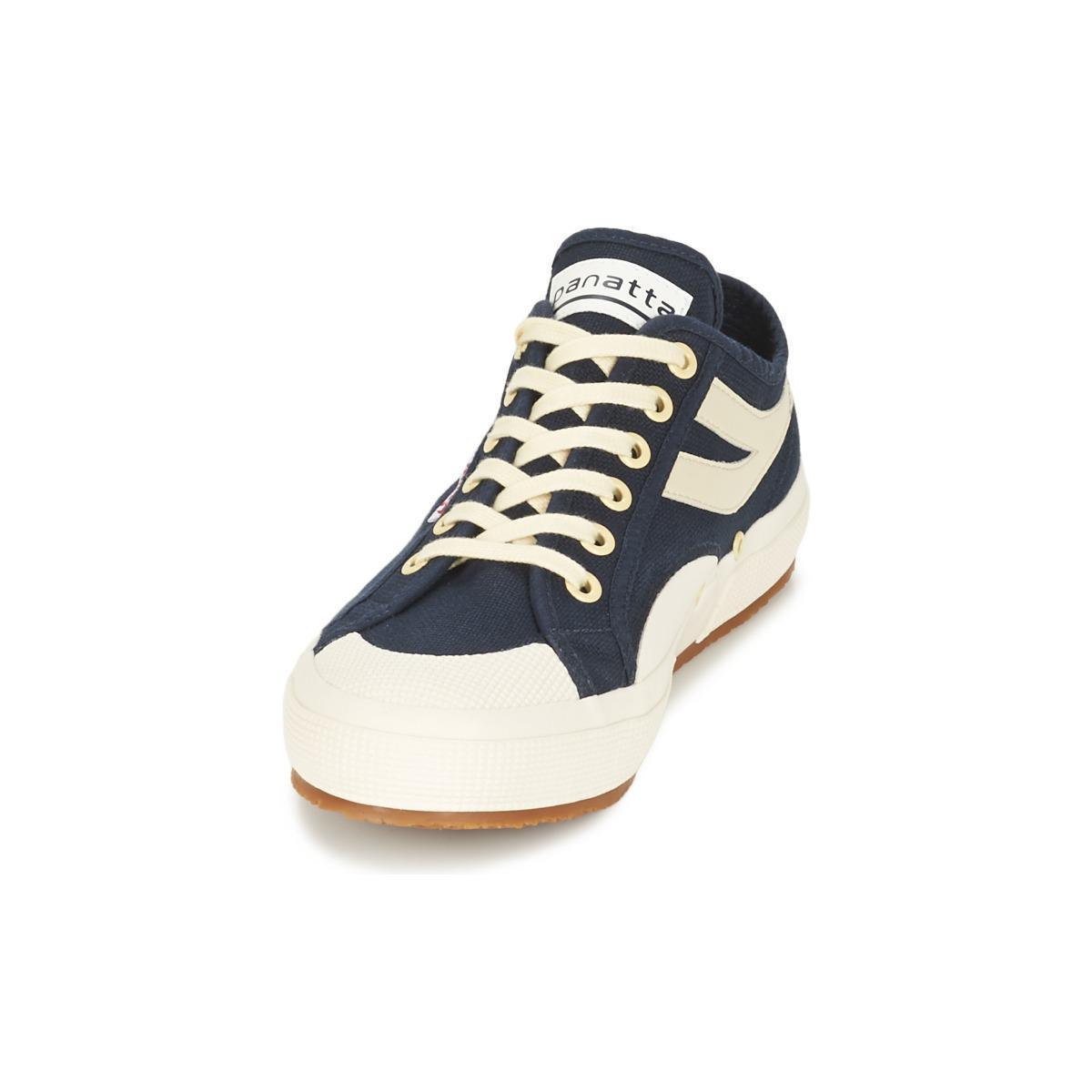 Superga Rubber 2750 Cotu Panatta Shoes (trainers) in Blue