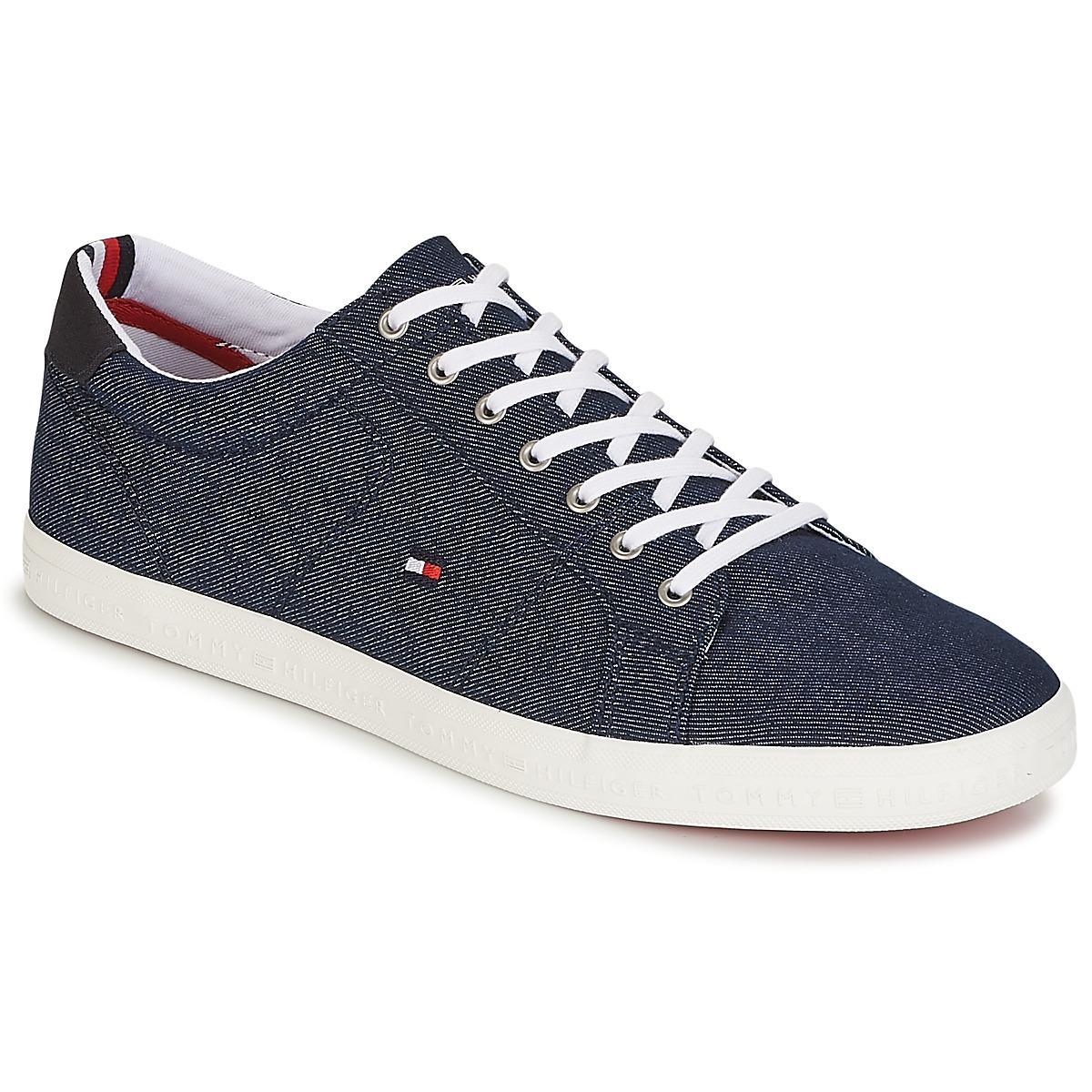 c6bd89fd544da Tommy Hilfiger Howell 1 Men's Shoes (trainers) In Blue in Blue for ...