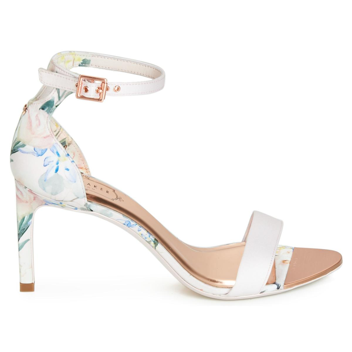 79a32d6c8ff Ted Baker Ulaniip Sandals in Pink - Lyst