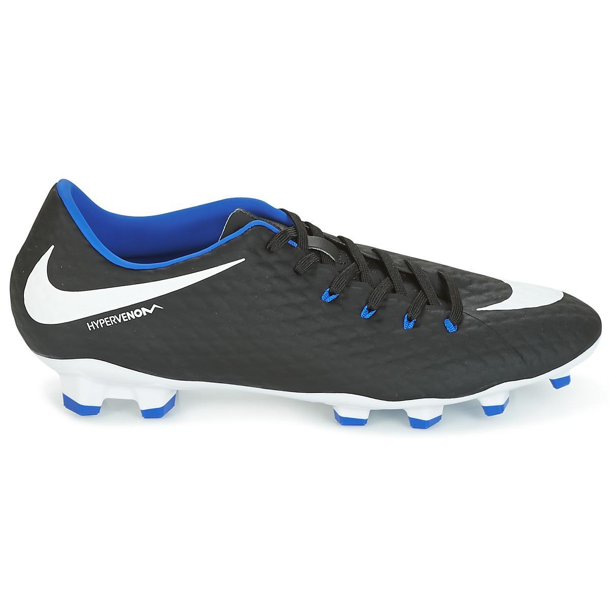 a19a6ae07a3 Nike - Black Hypervenom Phelon Iii Fg Football Boots for Men - Lyst. View  fullscreen