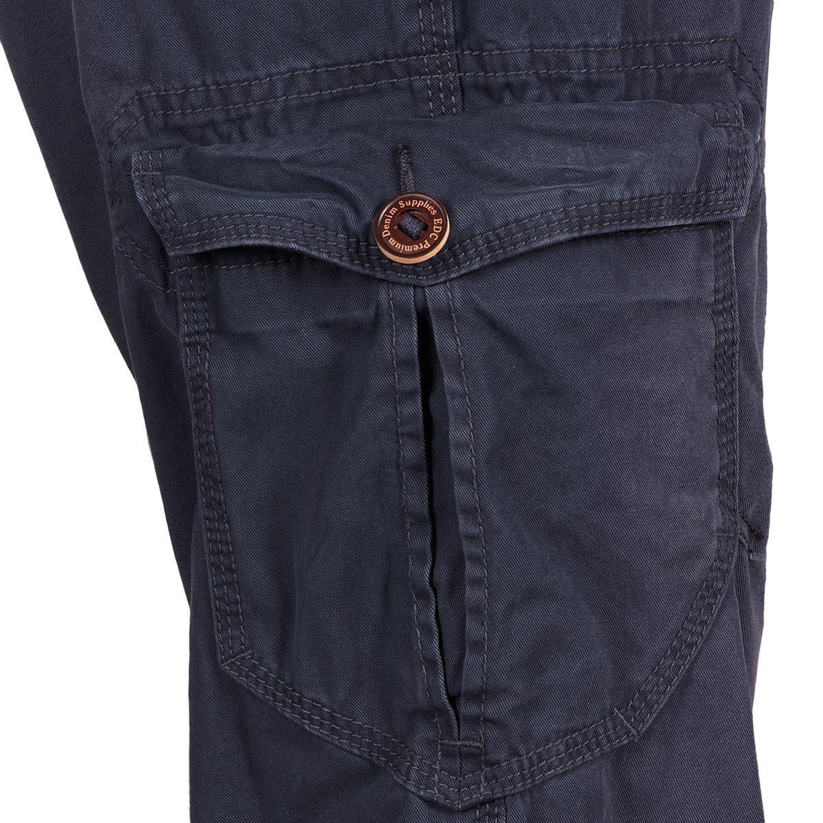 Esprit Cotton Vintage Cargo Trousers in Blue for Men
