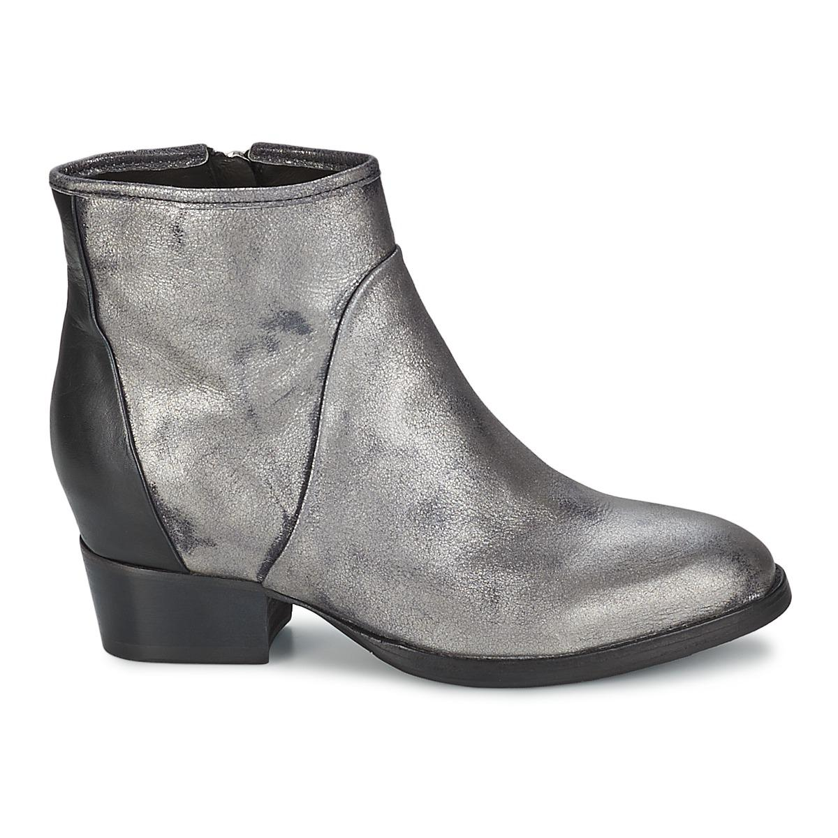 In Metallic Metal Dave Martins Boots Lyst Catarina Ankle Low aZPwp