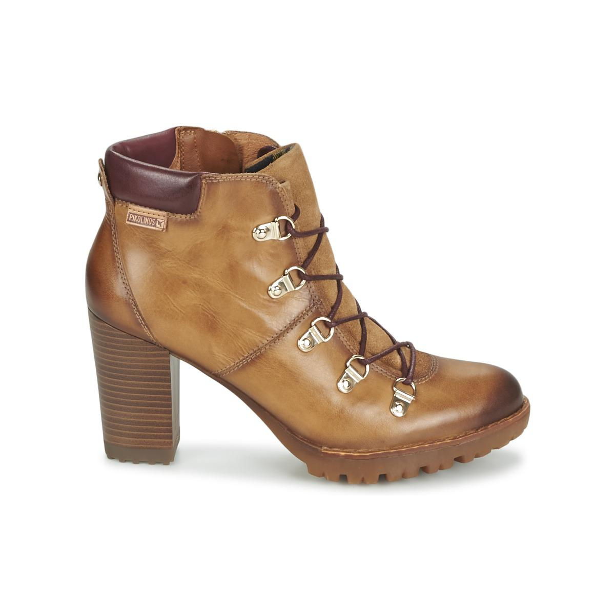 Pikolinos Leather Connelly W3e Low Ankle Boots in Brown