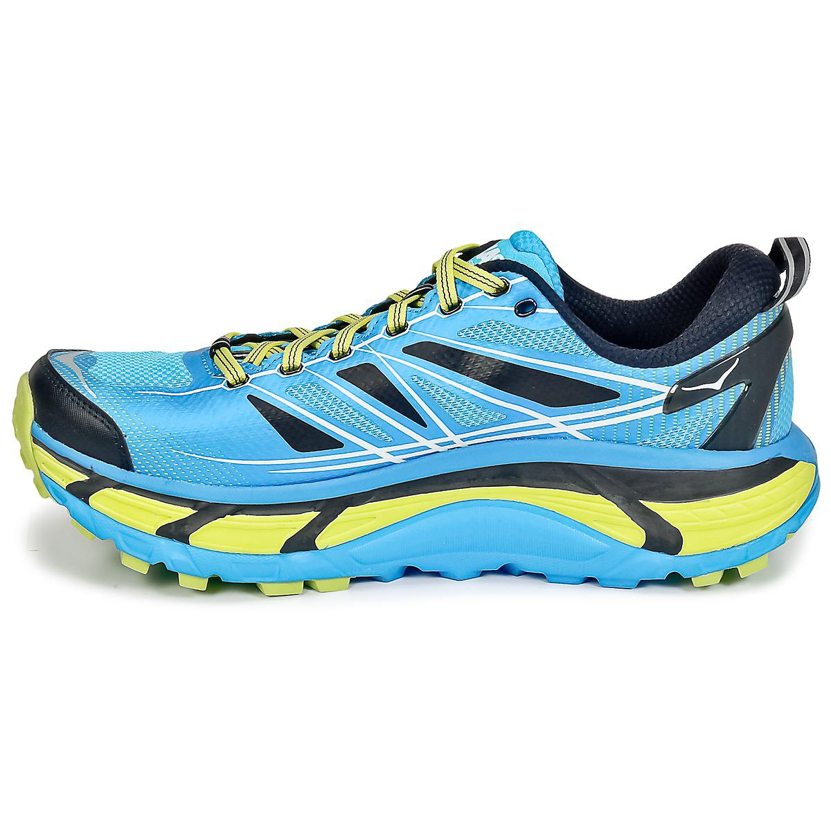 Hoka One One Synthetic Mafate Speed 2 Running Trainers in Blue for Men
