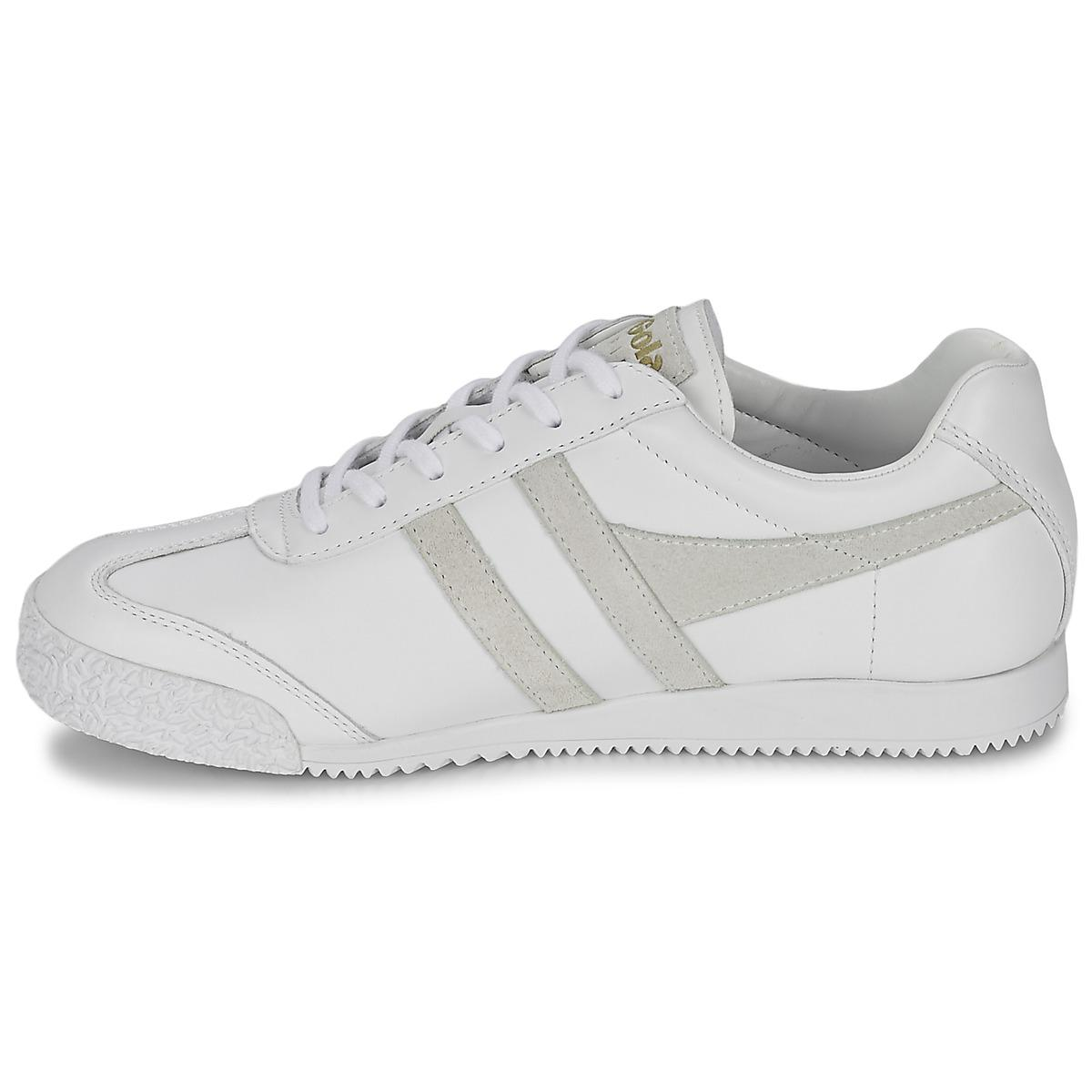 Gola Leather Harrier Mono Shoes (trainers) in White