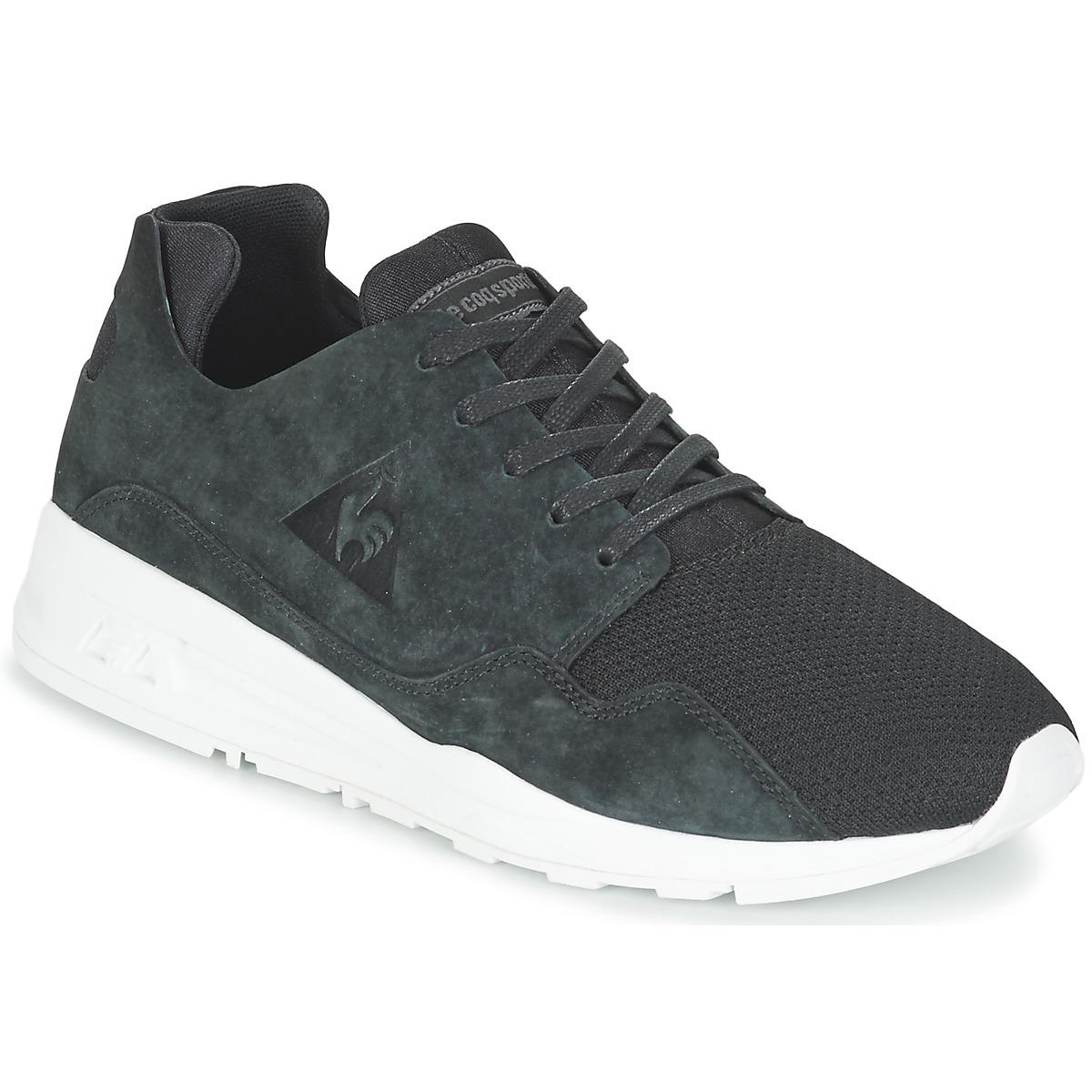 53f1be2c2e01 Le Coq Sportif Lcs R Pure Mono Luxe Shoes (trainers) in Black for ...