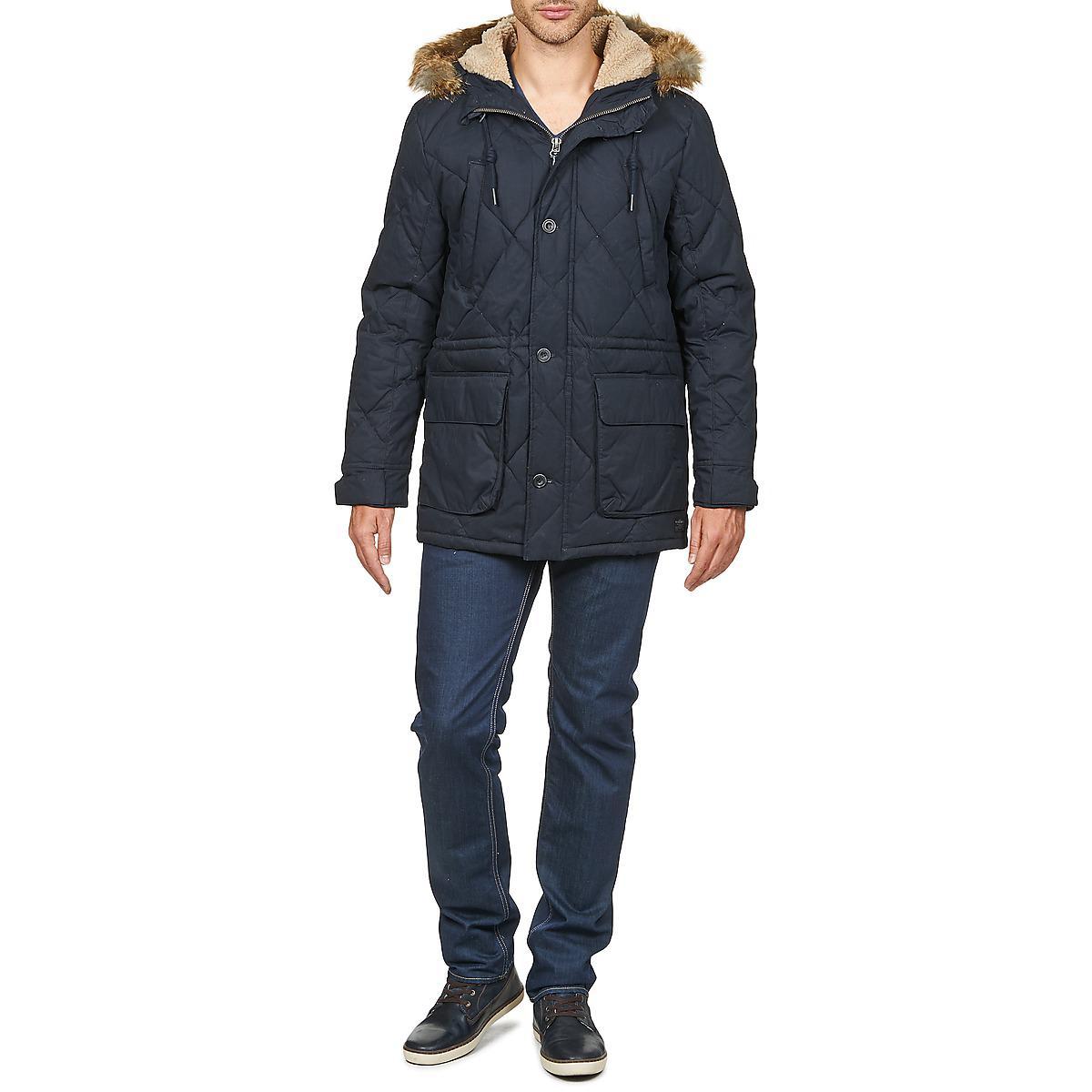 Lee Jeans Down Parka Parka in Blue for Men