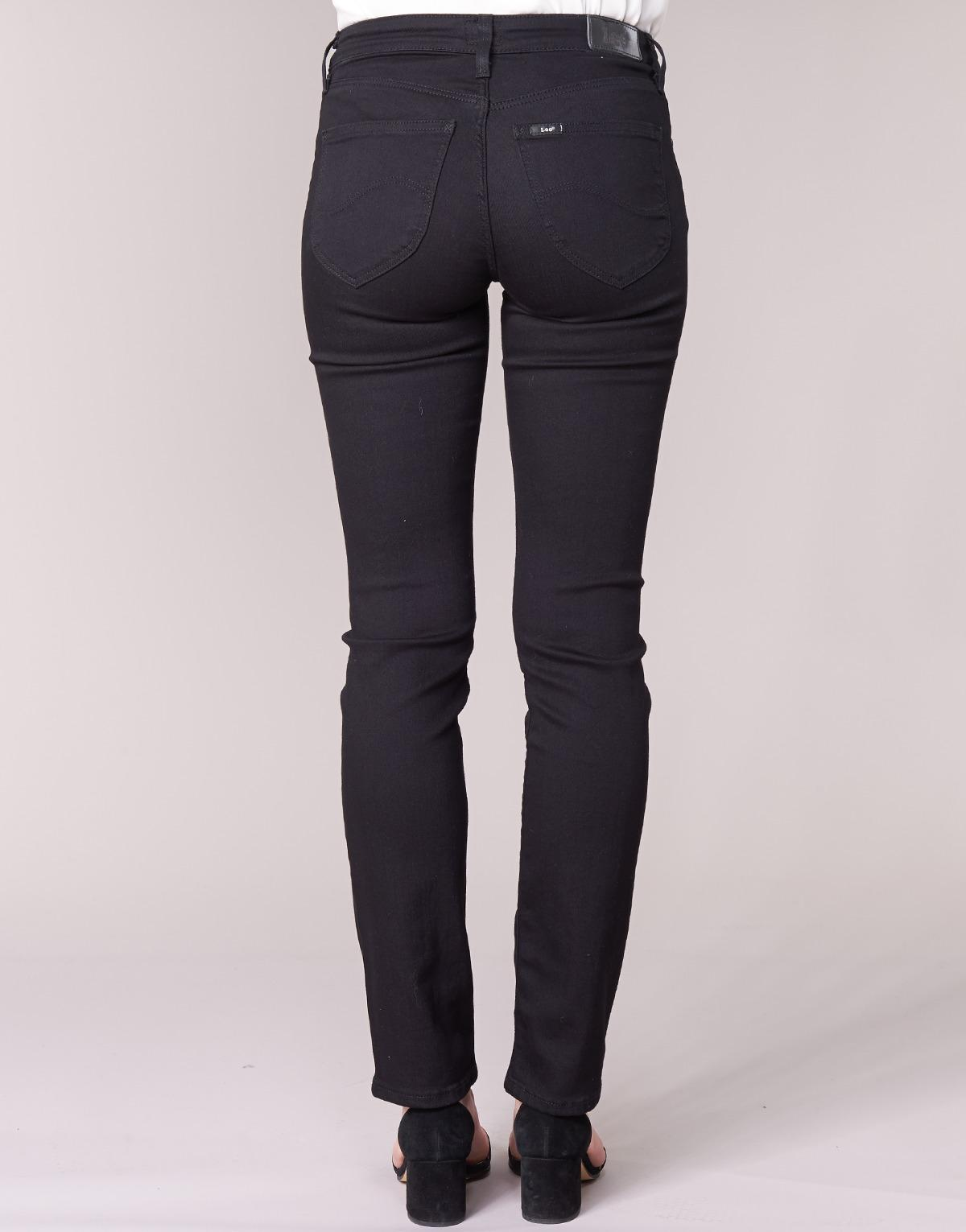 Lee Jeans Denim Marion Straight Women's Jeans In Black - Save 23%