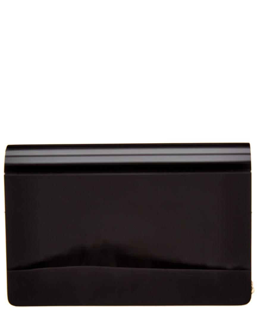 f756960fc3f7 Lyst - Michael Michael Kors Michael Kors Barbara Medium Envelope Clutch in  Black