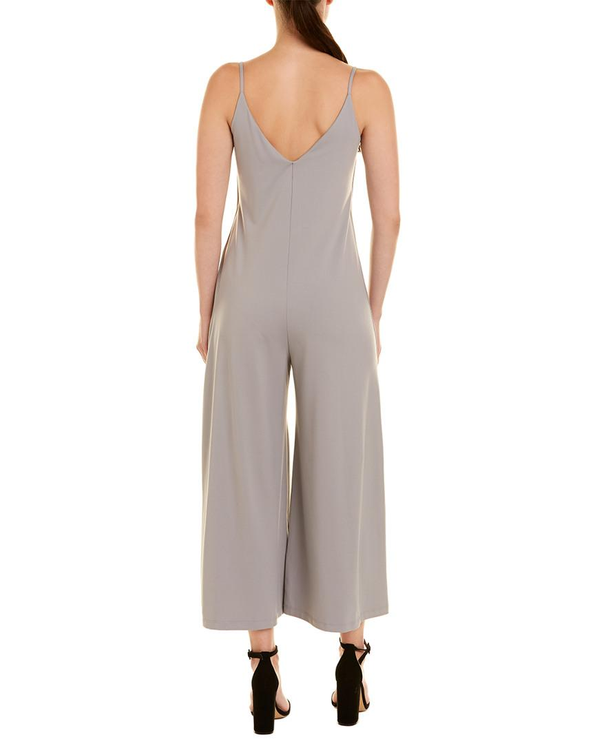 07f58a8e60f9 Lyst - Susana Monaco Sleeveless Jumpsuit in Gray