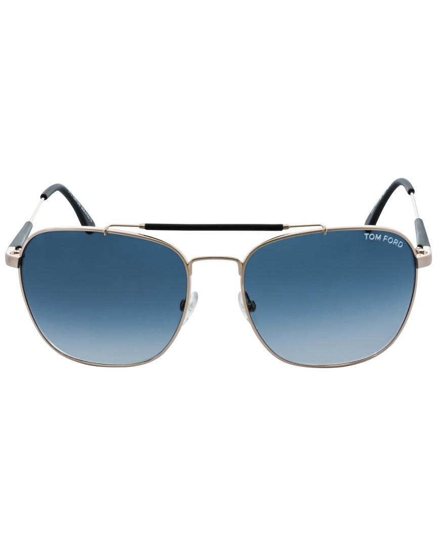 d7f20460f2b80 Lyst - Tom Ford Edward 58mm Sunglasses in Blue for Men - Save 1%