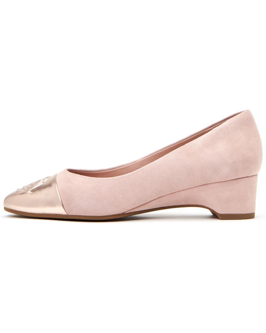 10b1d6d6c4 Taryn Rose Babe Pump in Pink - Lyst