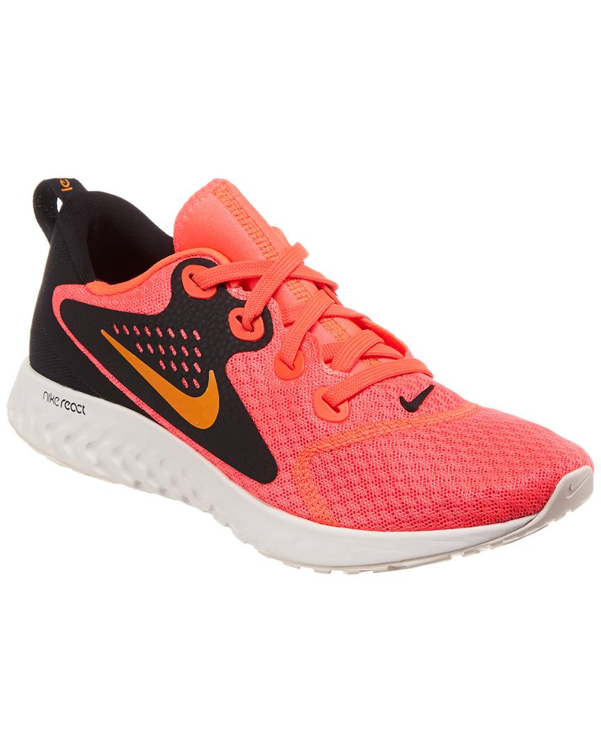 0364b2633ddb Nike Legend React Running Shoe in Red - Save 2% - Lyst