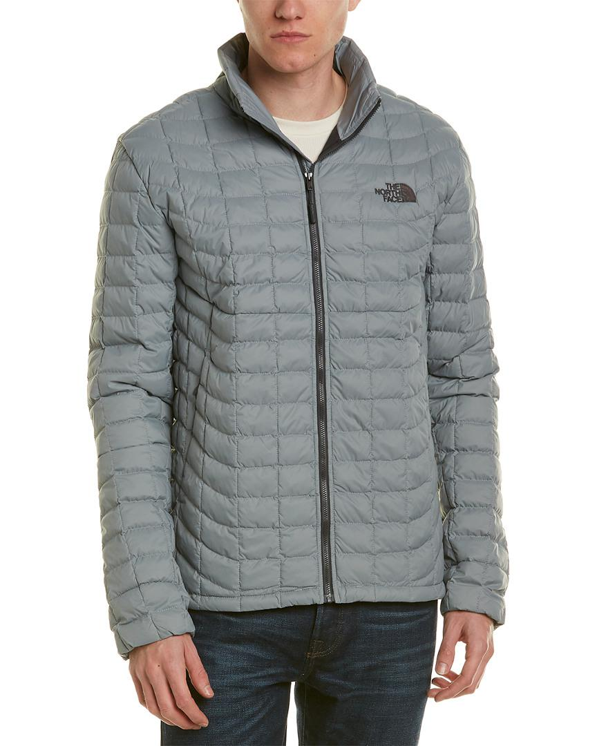 46c16feefb Lyst - The North Face Thermoball Jacket in Gray for Men - Save ...
