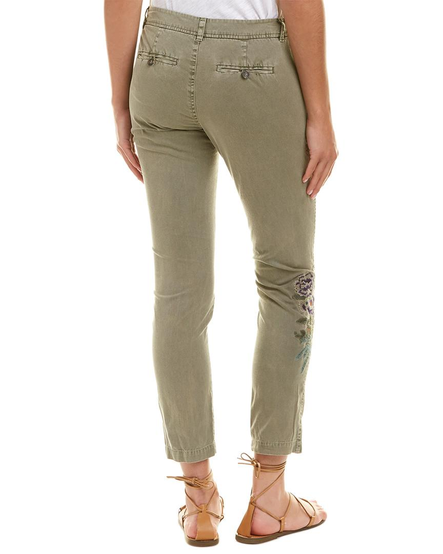 7d44e4fcf57 Lyst - Johnny Was Love Pant in Green