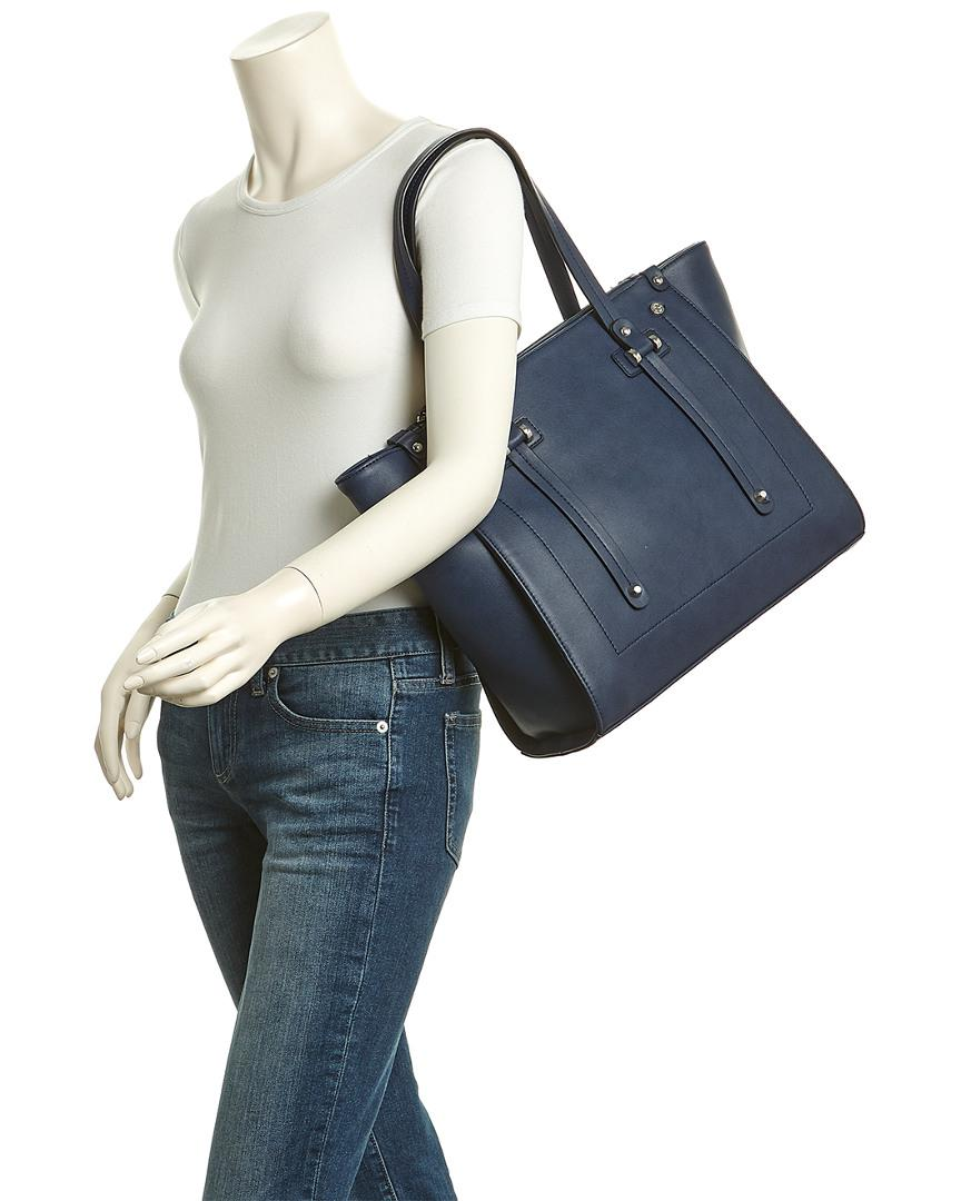 CXL by Christian Lacroix Margaux Tote in Blue