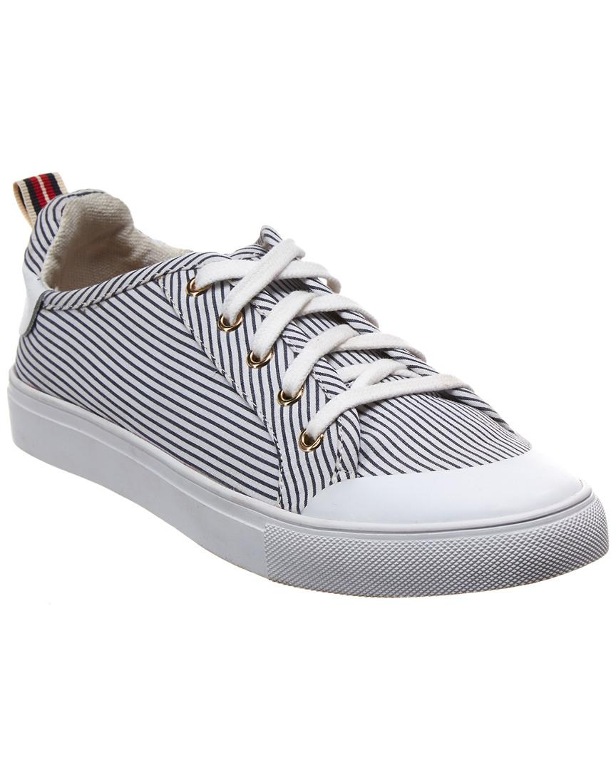 Jaggar Lace Me Up Stripe Sneaker
