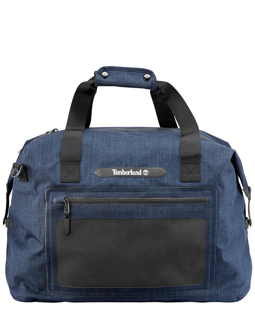 3ffdb3d6439 Timberland Baxter Lake Waterproof Duffel Bag in Blue for Men - Lyst