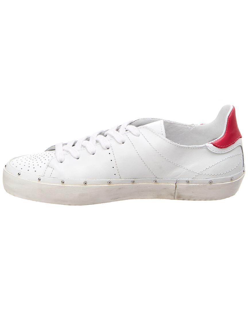 Rebecca Minkoff Michell Leather Sneaker in White
