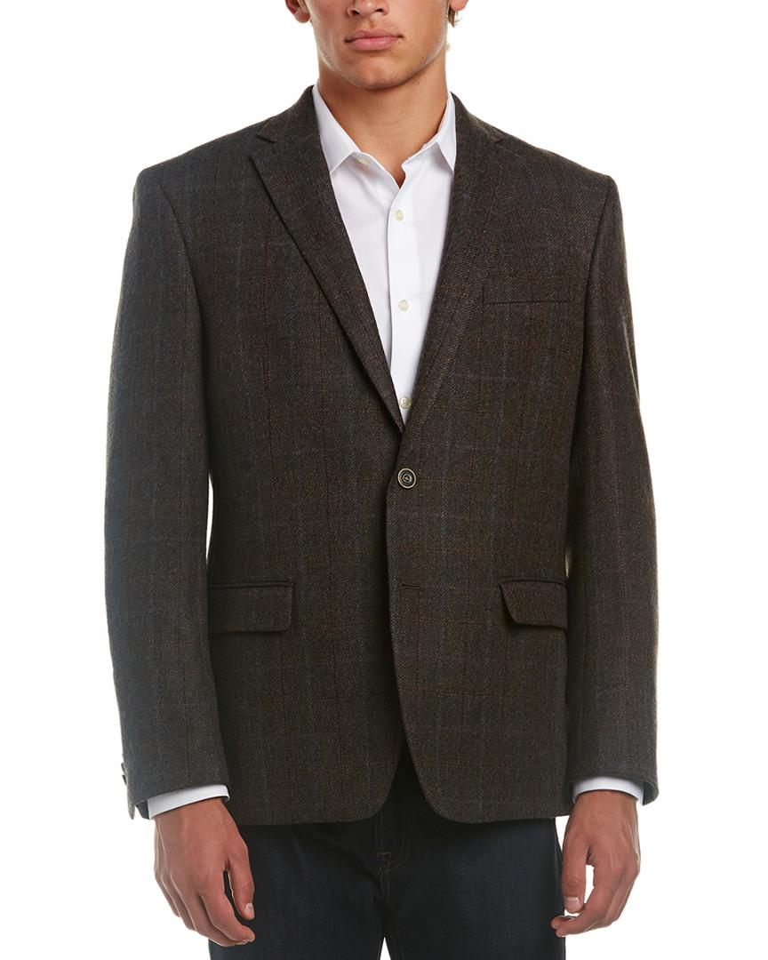 Austin Reed Wool Sport Coat In Grey Grey For Men Lyst