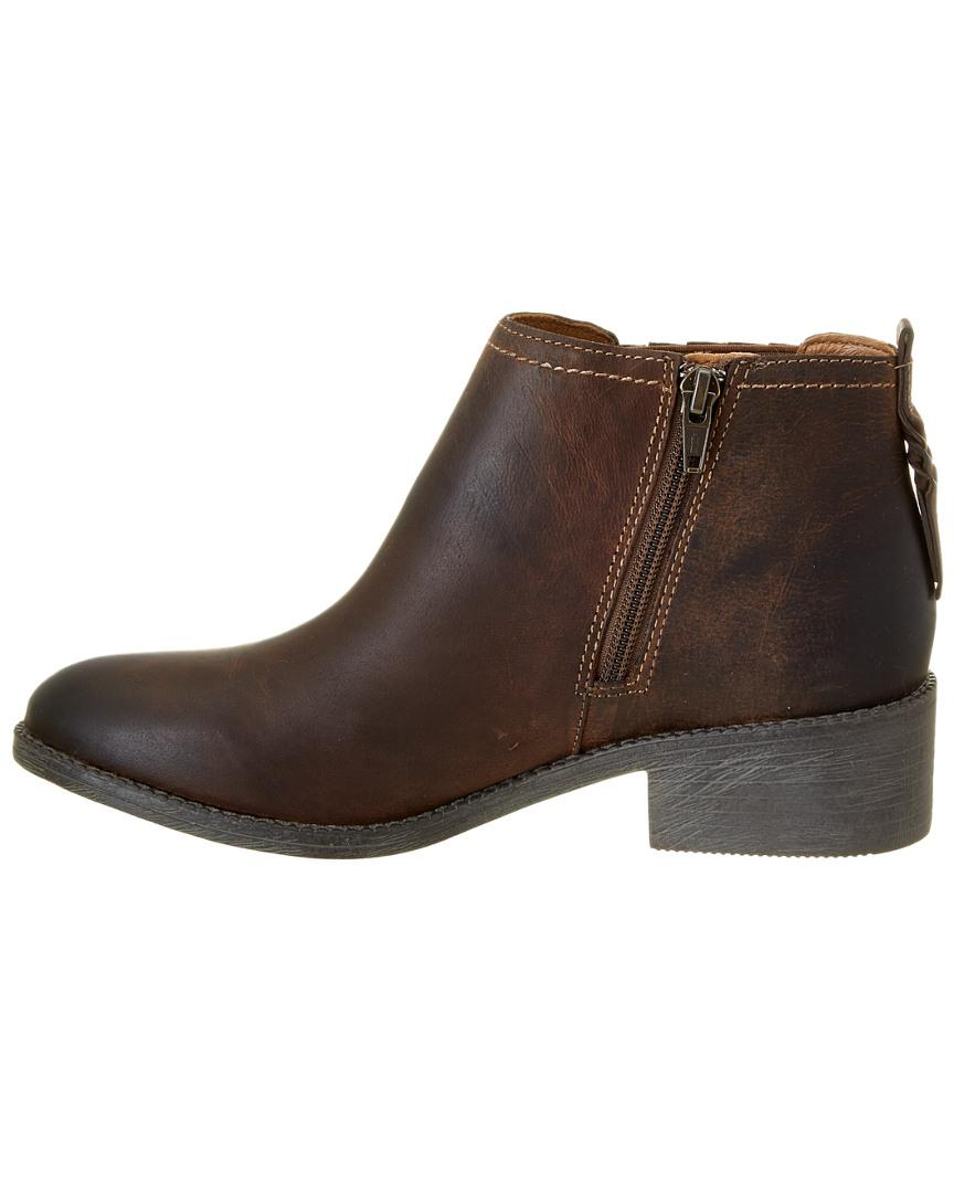Sperry Top-Sider Women's Juniper Bree Leather Boot in Brown