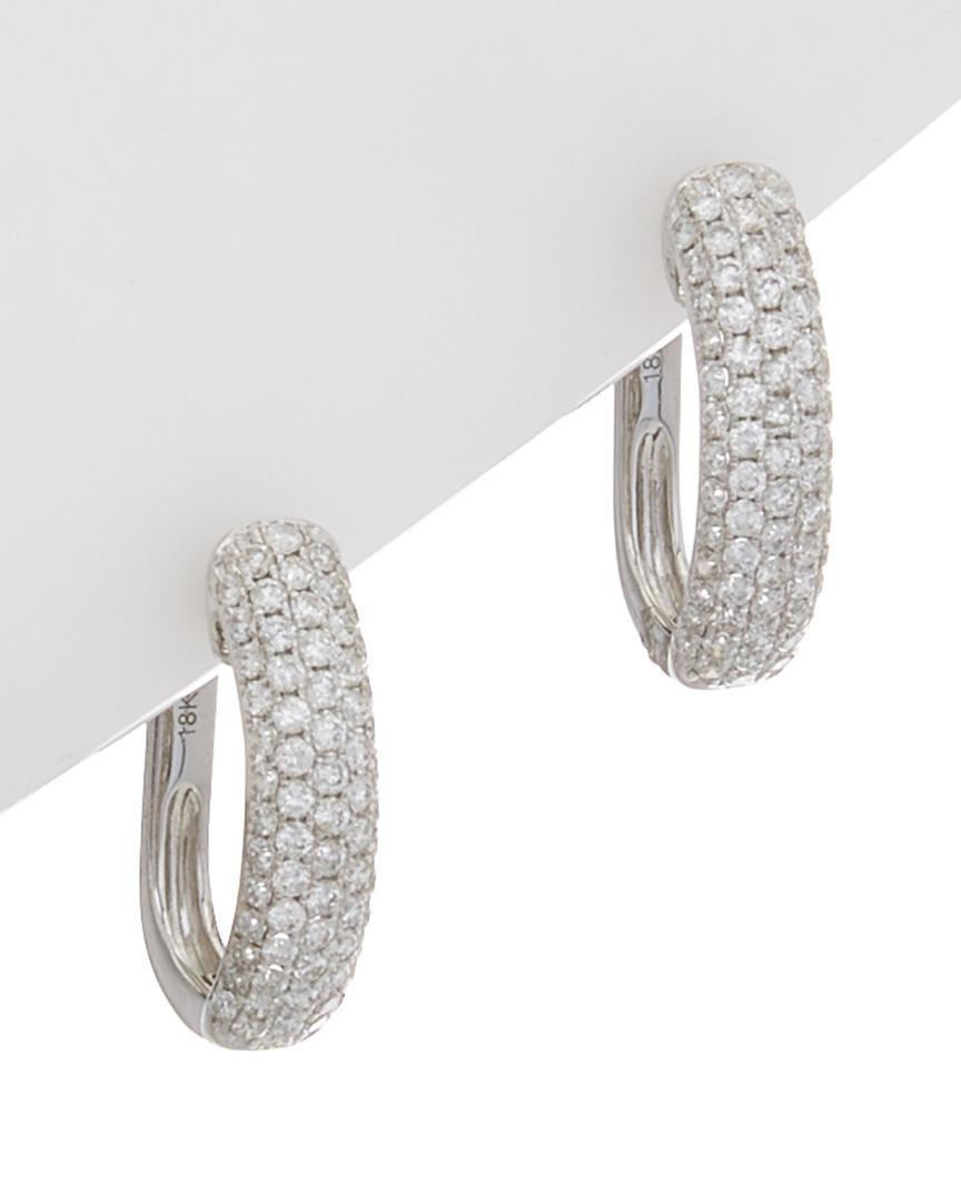 Diana M. Jewels 14k Yellow Gold Diamond Flower Earrings DIUIFB7