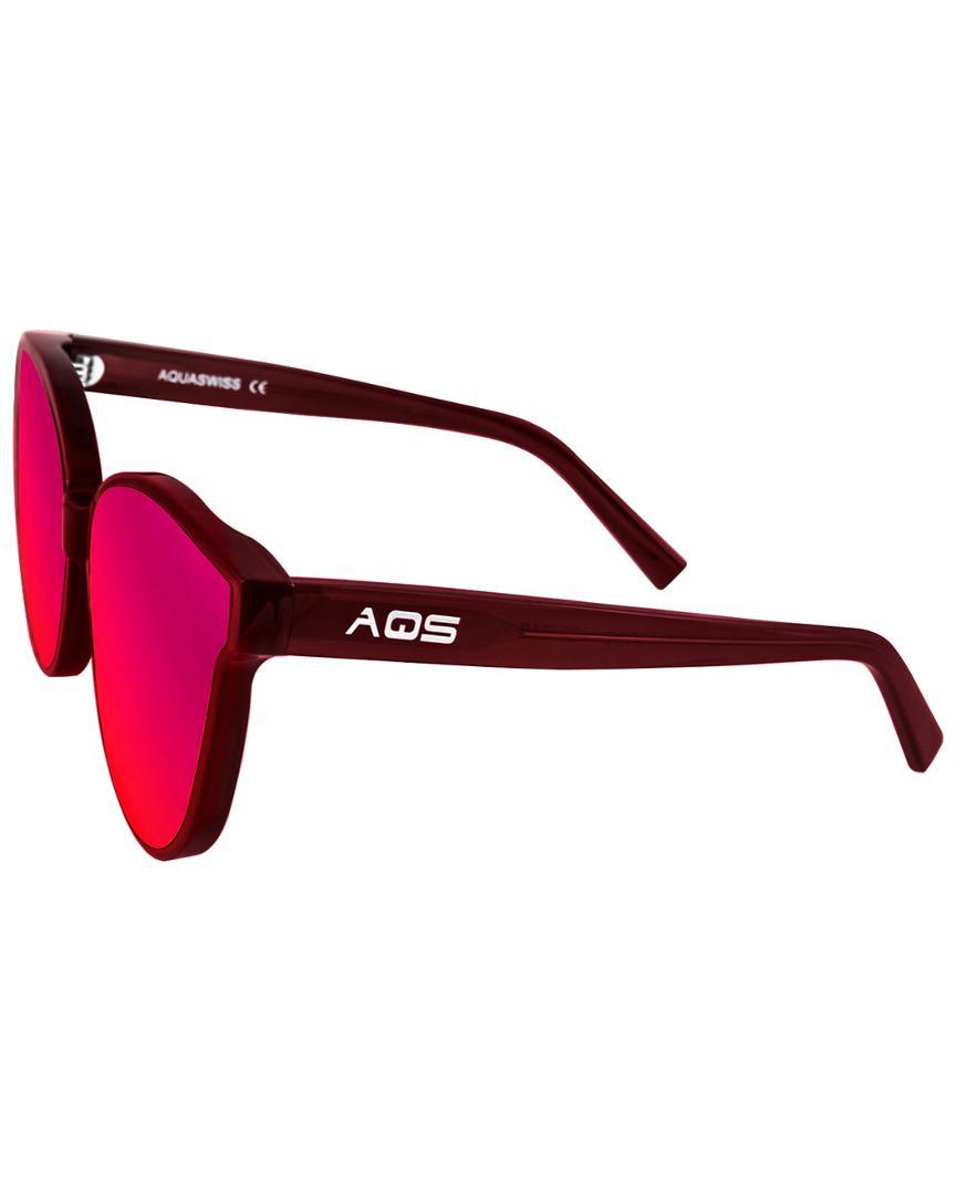 Aquaswiss Women's Iris 65mm Polarized Sunglasses