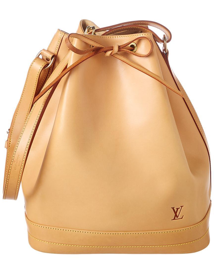 Louis Vuitton Vachetta Leather Noe