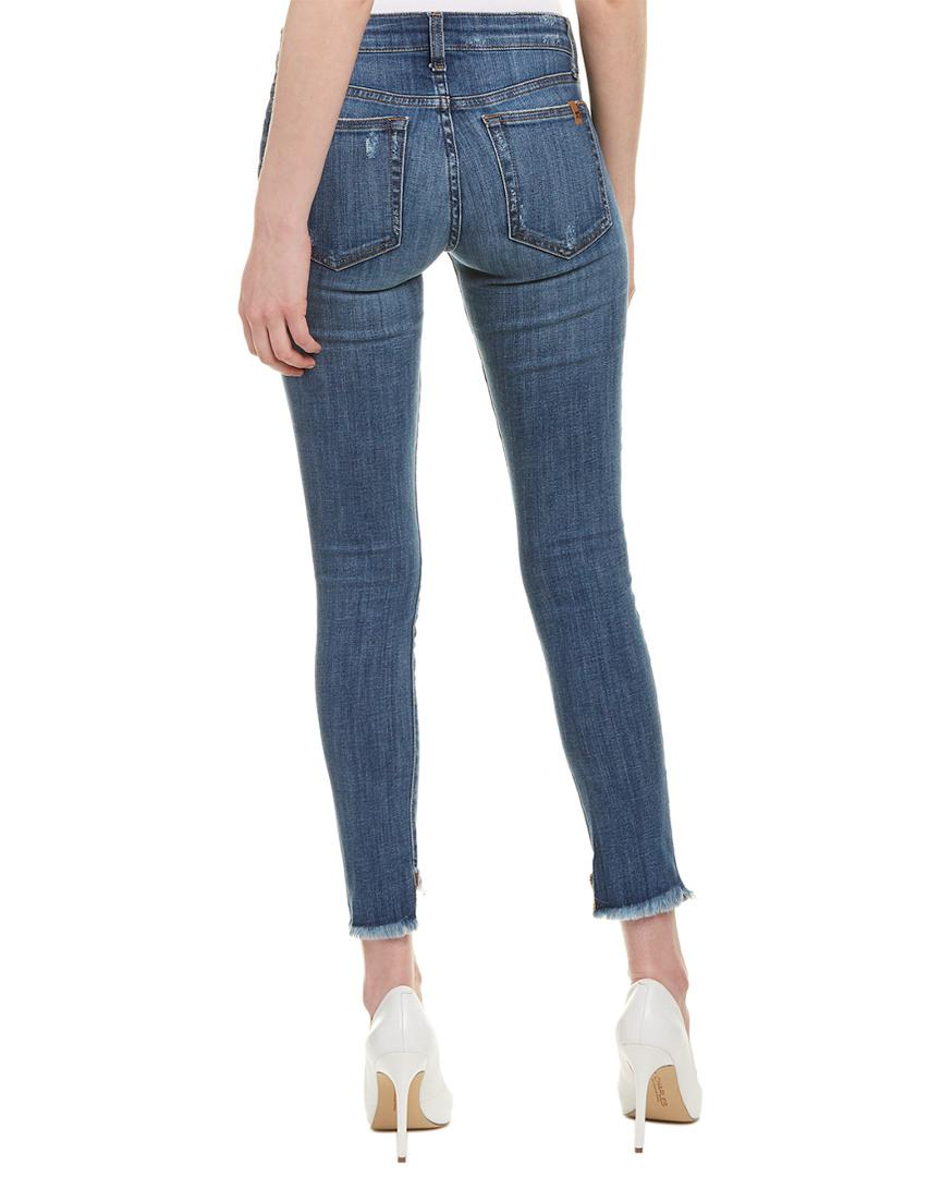 Joe's Jeans Cotton Icon Maeve Ankle Skinny Leg in Blue