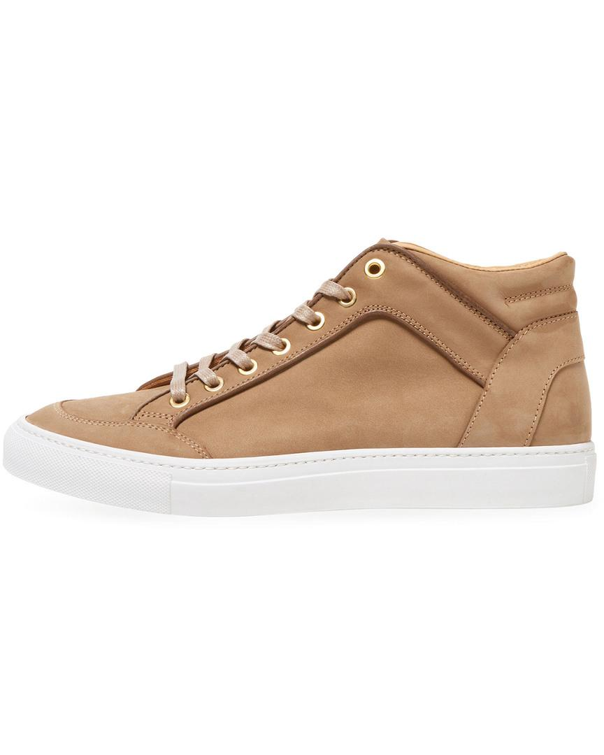 A'Louest Offshore Leather High-top in Beige (Natural) for Men