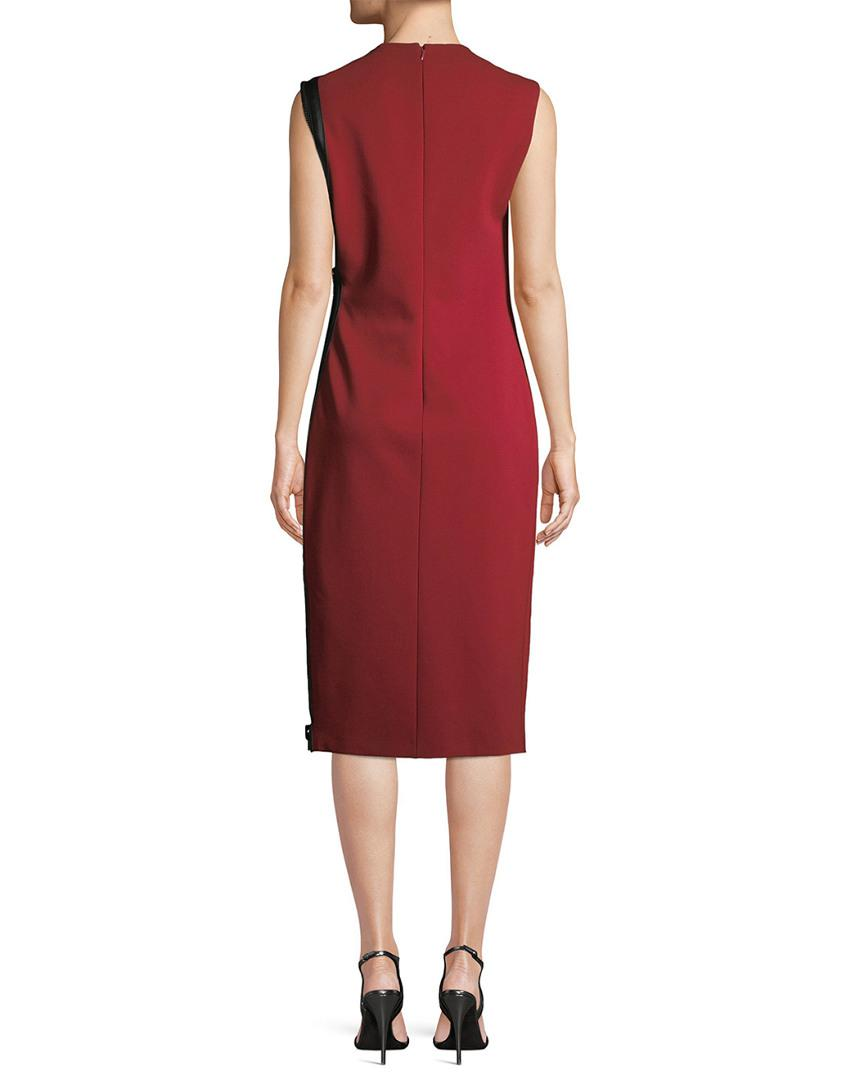 708e20882c2 Lyst - Tom Ford Asymmetric Sheath Dress in Red - Save 0.1428571428571388%
