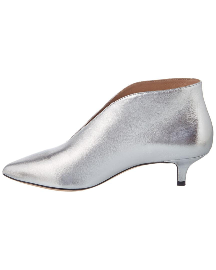 9d37689357164 Pour La Victoire Kora Leather Bootie in Metallic - Save 49% - Lyst
