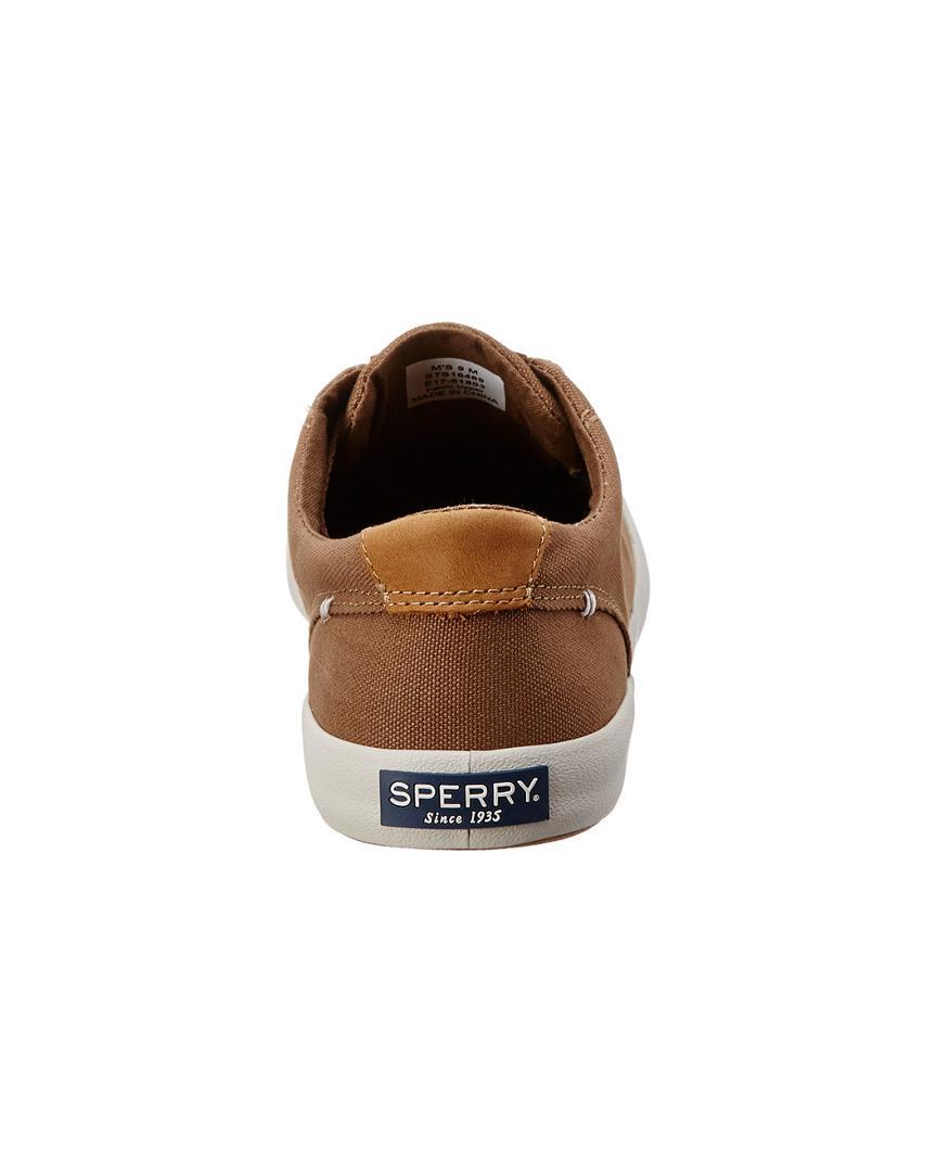 Sperry Top-Sider Men's Wahoo Canvas Shoe in Brown for Men