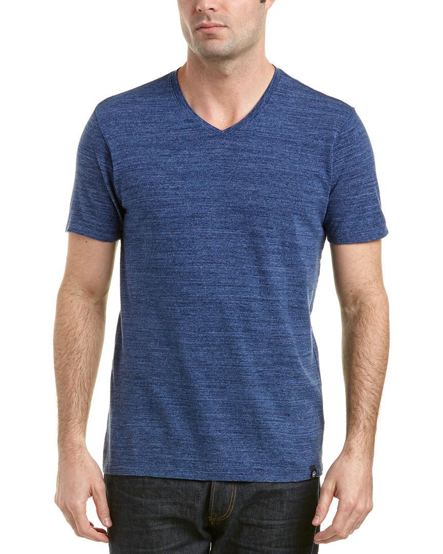 AG Jeans Cotton Commute V-neck in Blue for Men