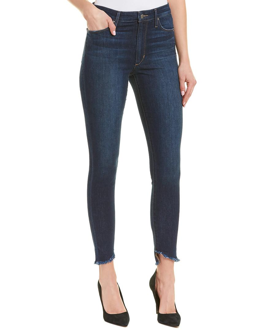 03d135410de Lyst - Joe s Jeans The Charlie Coraline High-rise Skinny Ankle Cut ...