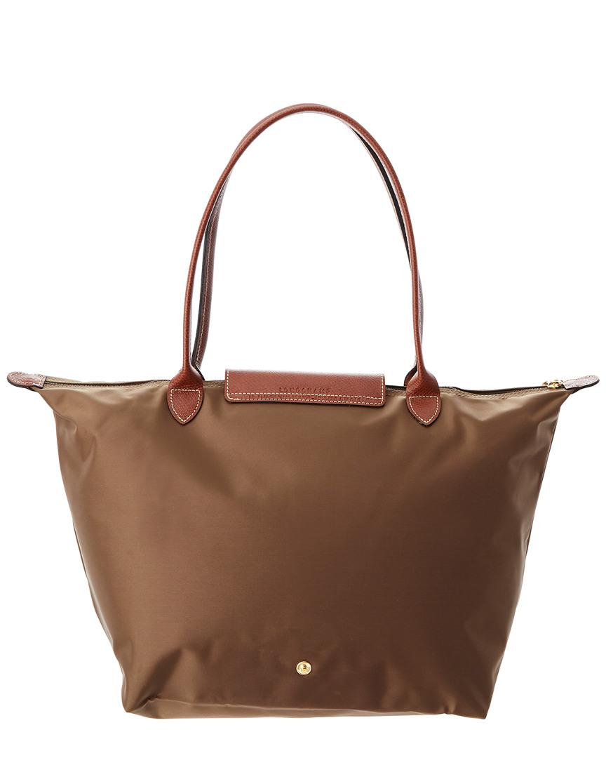 Longchamp Synthetic Le Pliage Small Nylon Tote in Green