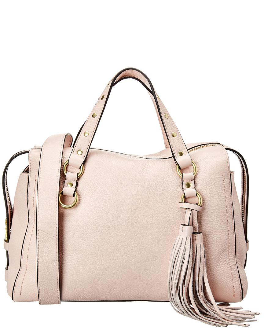 Lyst - Cole Haan Cassidy Satchel in Pink 043b66f91db3d