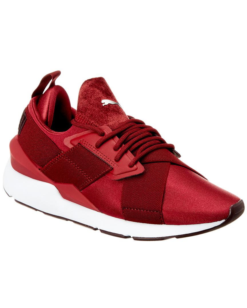 PUMA Muse Satin Ii Lace-up Sneakers in