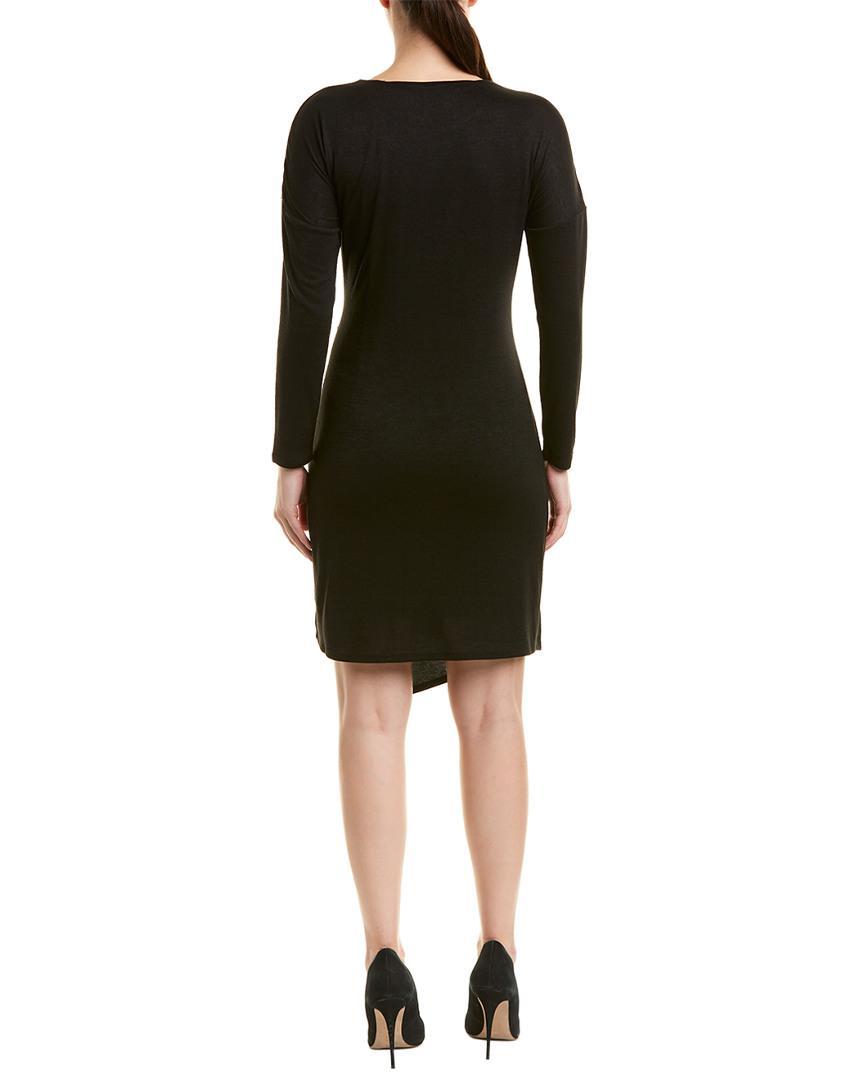 a7213b4e77b Lyst - Nic+Zoe Petite Faux Wrap Dress in Black