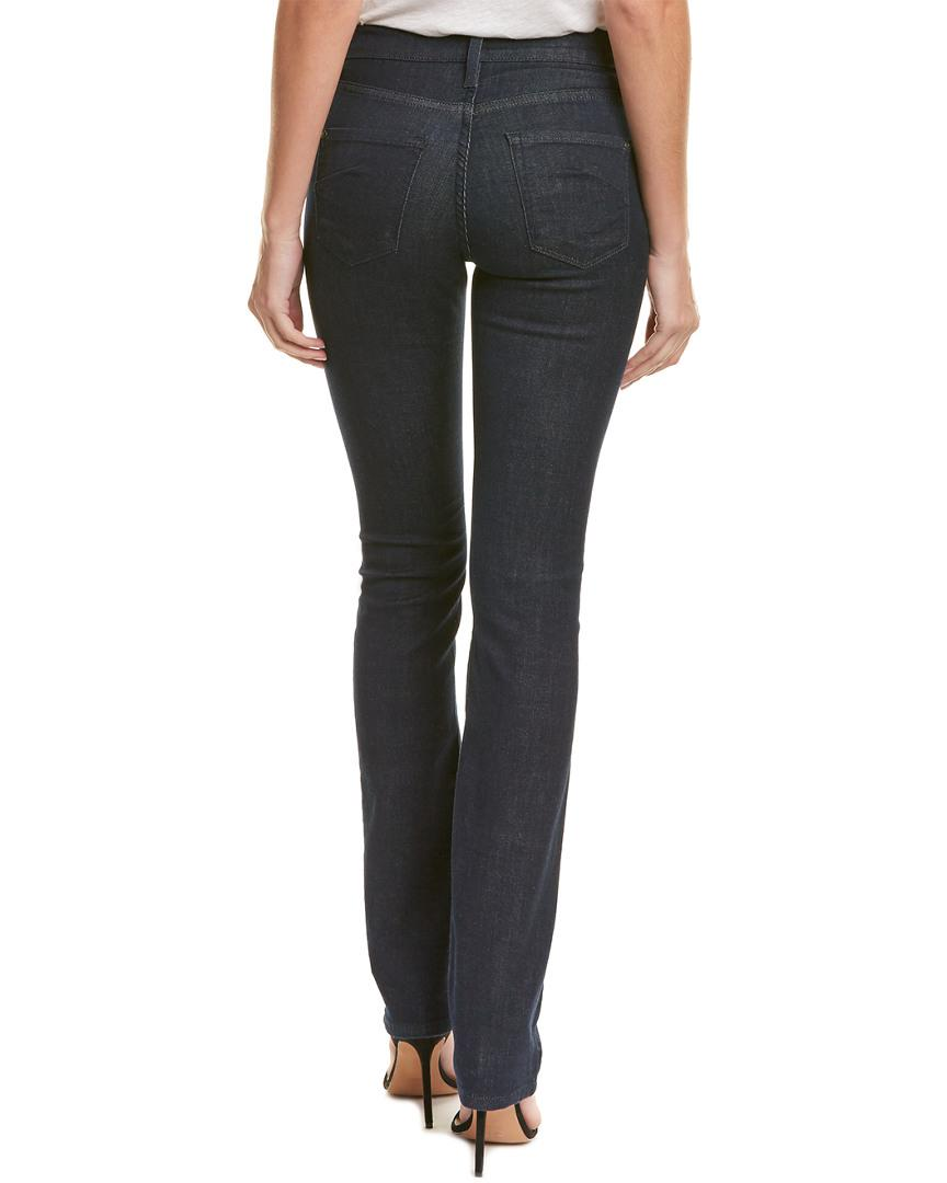 James Jeans Cotton Hunter Trinity High-rise Straight Leg in Blue