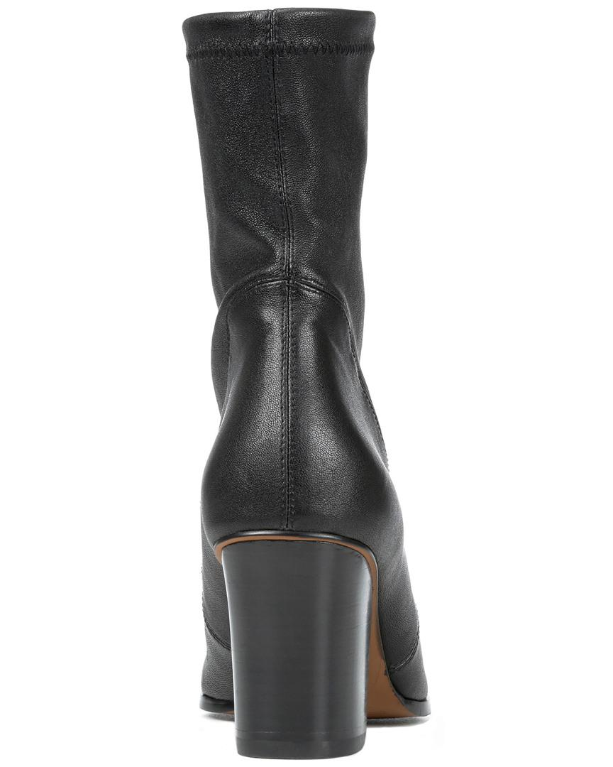 Donald J Pliner Pandra Leather Bootie in Black