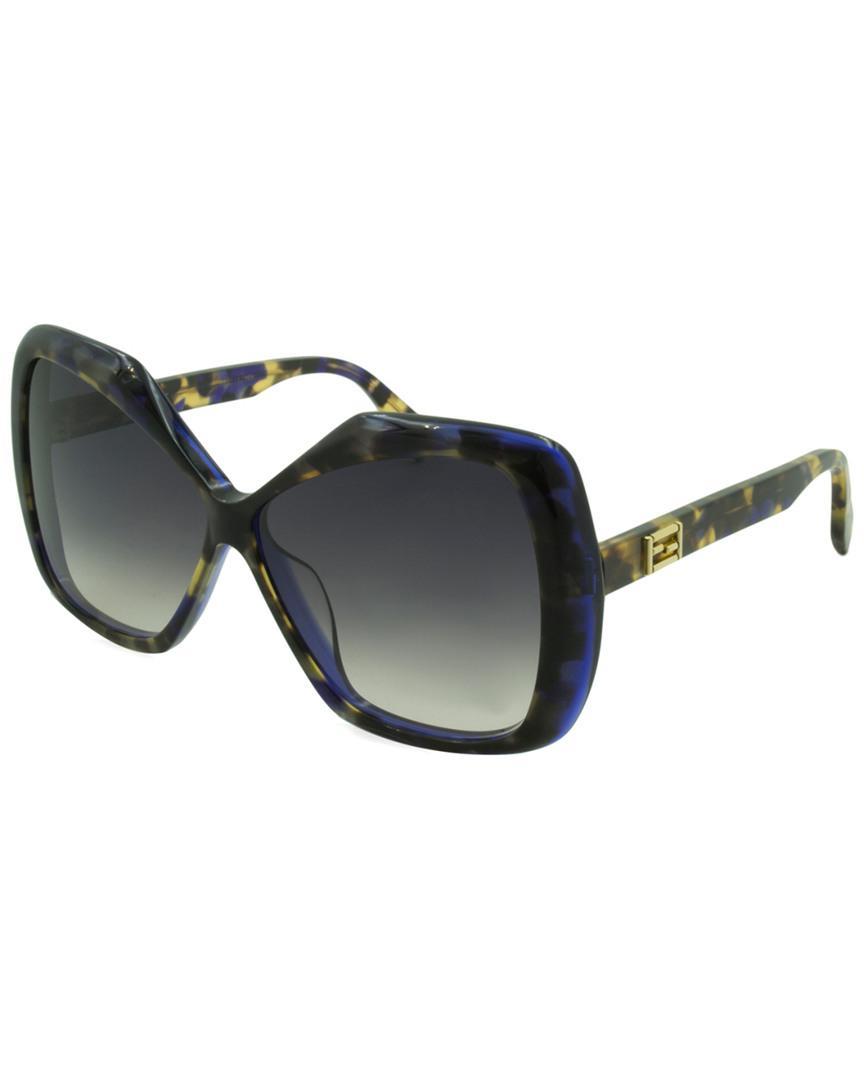 65284eb5f75 Lyst - Fendi Ff 0092 s 58mm Sunglasses