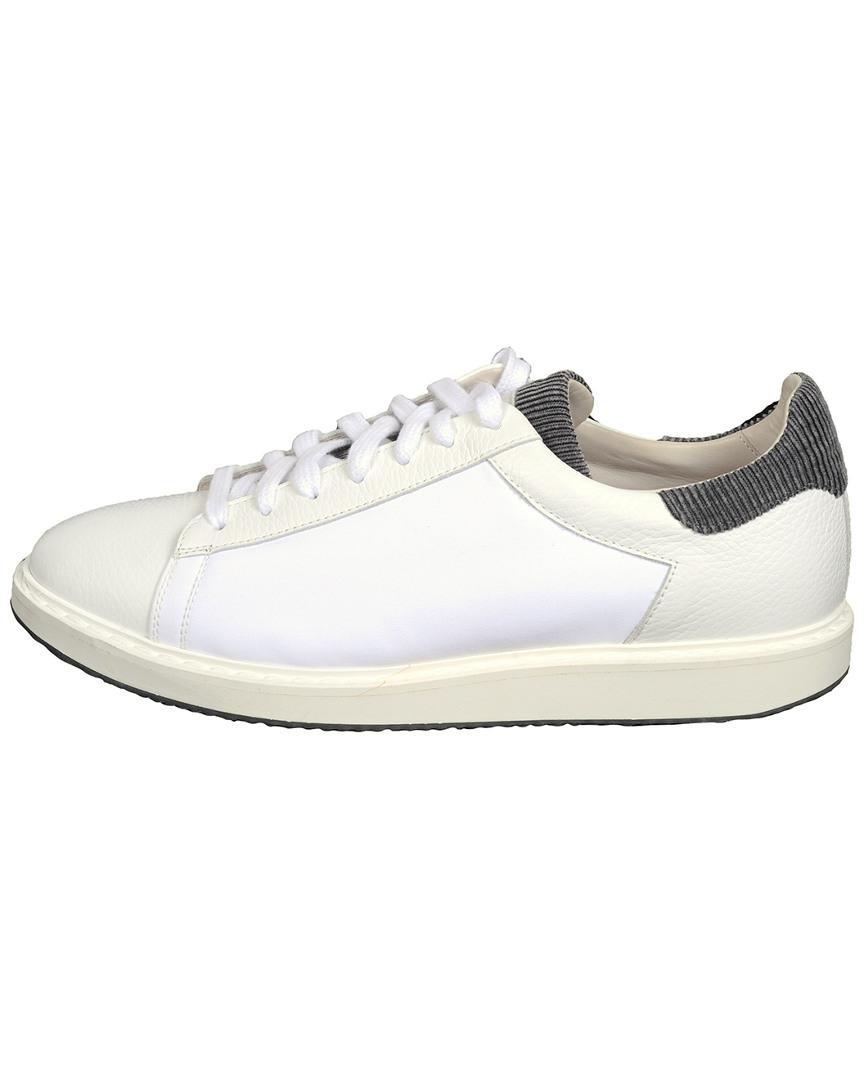 f6e8d212e3ef Brunello Cucinelli White Sneaker in White for Men - Lyst