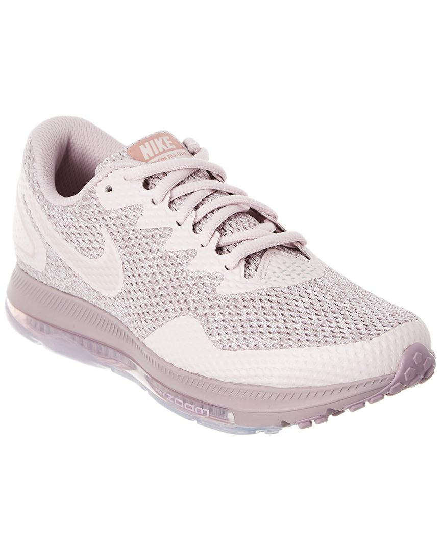 Nike. Purple Women's Zoom All Out Low 2 Running Shoe