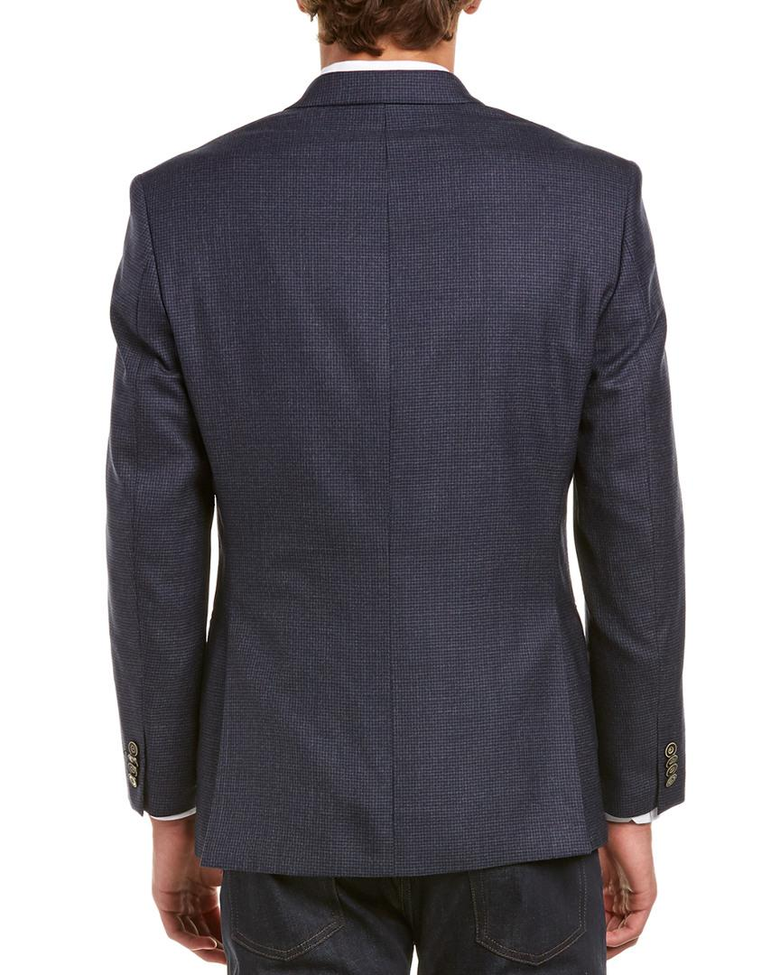 Austin Reed Wool Sport Coat In Blue For Men