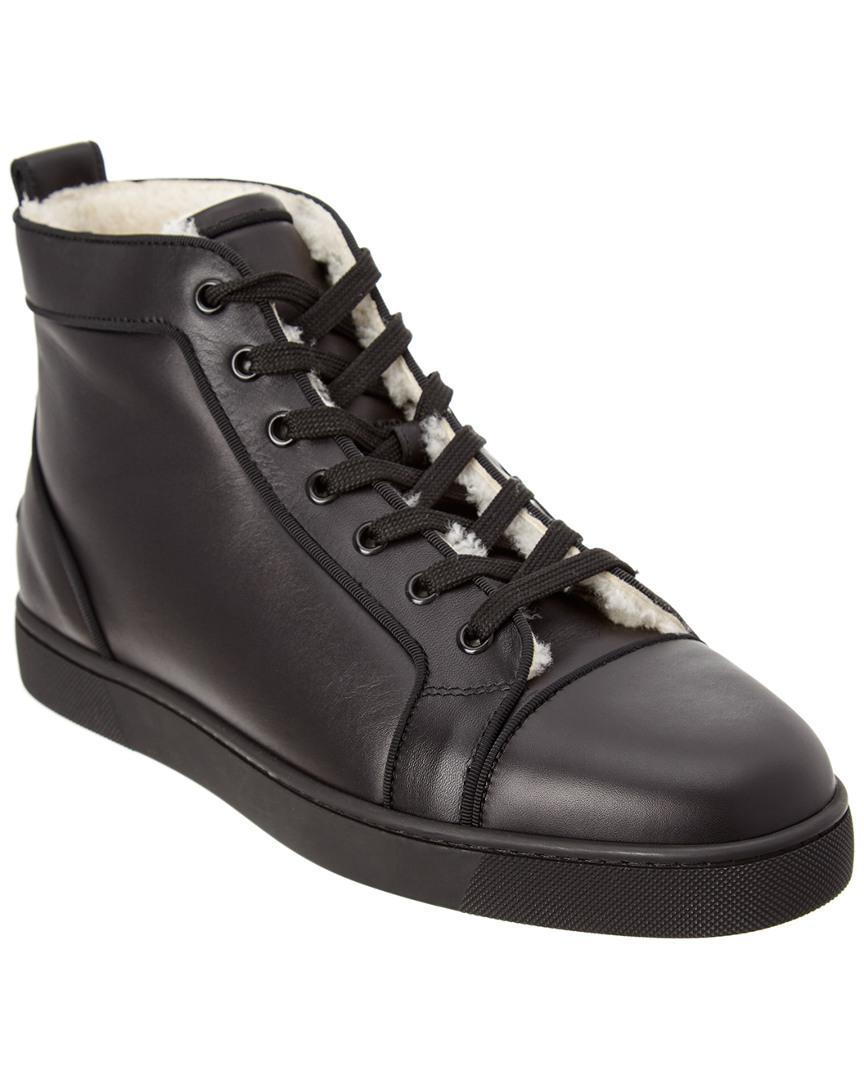 9cdf180a0c6 Lyst - Christian Louboutin Merilouis Leather Sneaker in Black for Men
