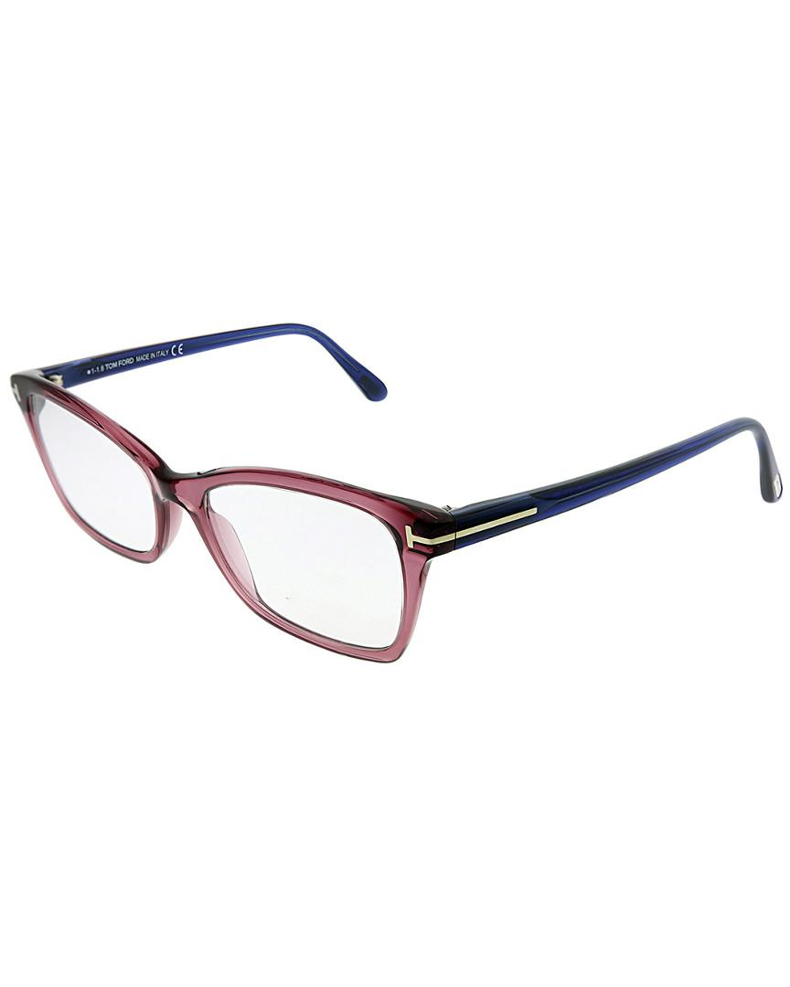 256aab0439a3 Tom Ford Unisex Square 52mm Optical Frames - Lyst