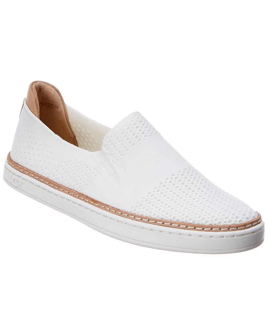 bfa10344c03 Women's White Sammy Knit Slip-on