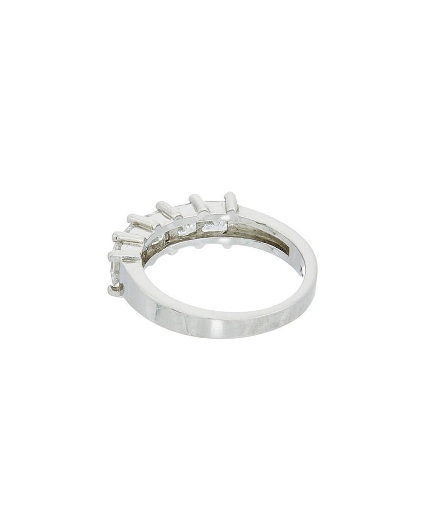 Diana M. Jewels Bridal Collection Platinum 1.67 Ct. Tw. Diamond Ring in Metallic