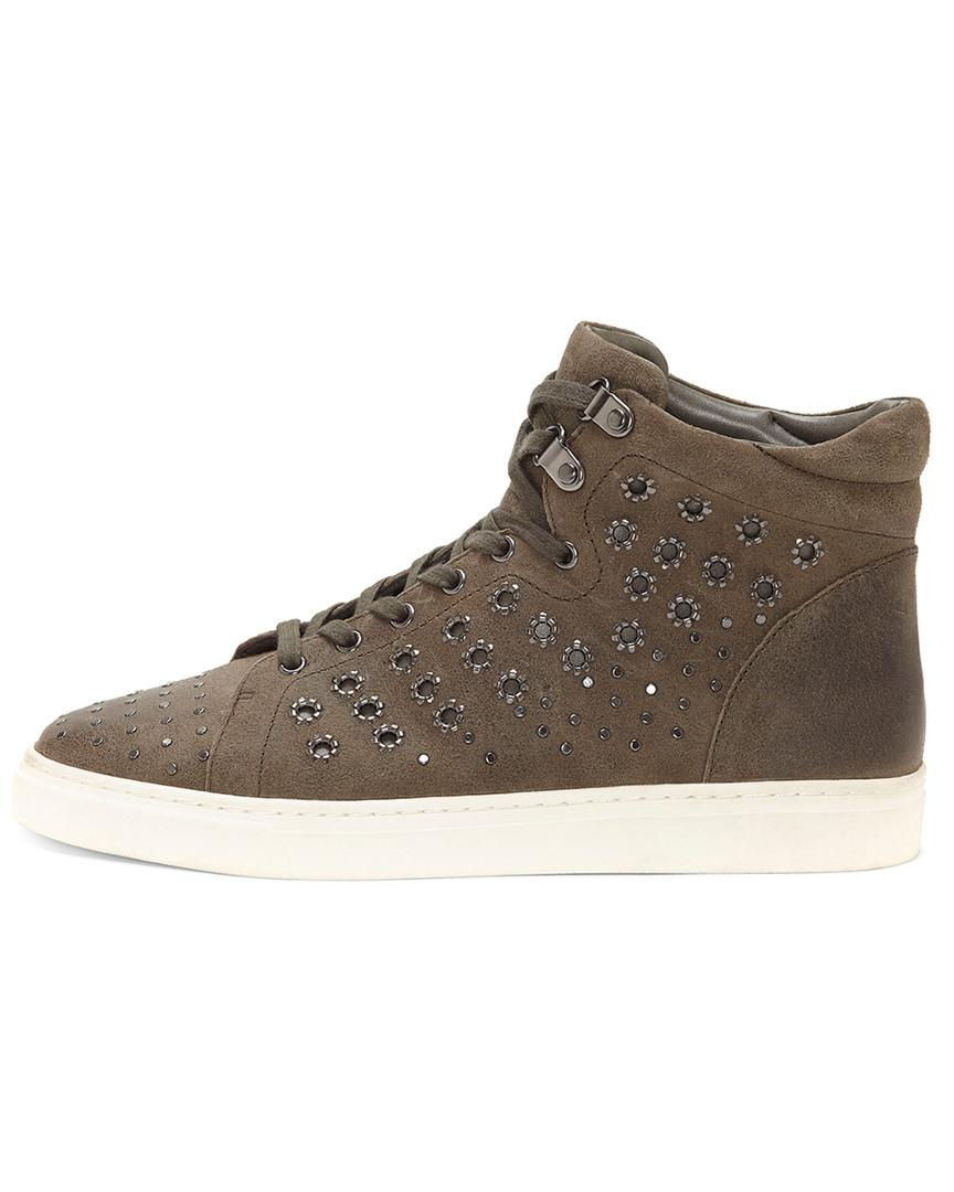fdbb74ffaa0e Lyst - Vince Camuto Bestinda – Embellished High-top Sneaker in Brown - Save  28%
